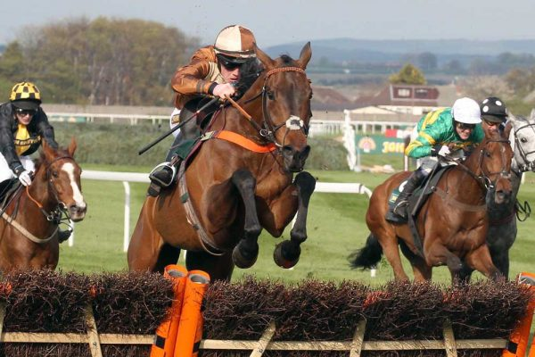 Attaglance: defied top weight to land Aintree's Listed handicap hurdle. (c) John Grossick